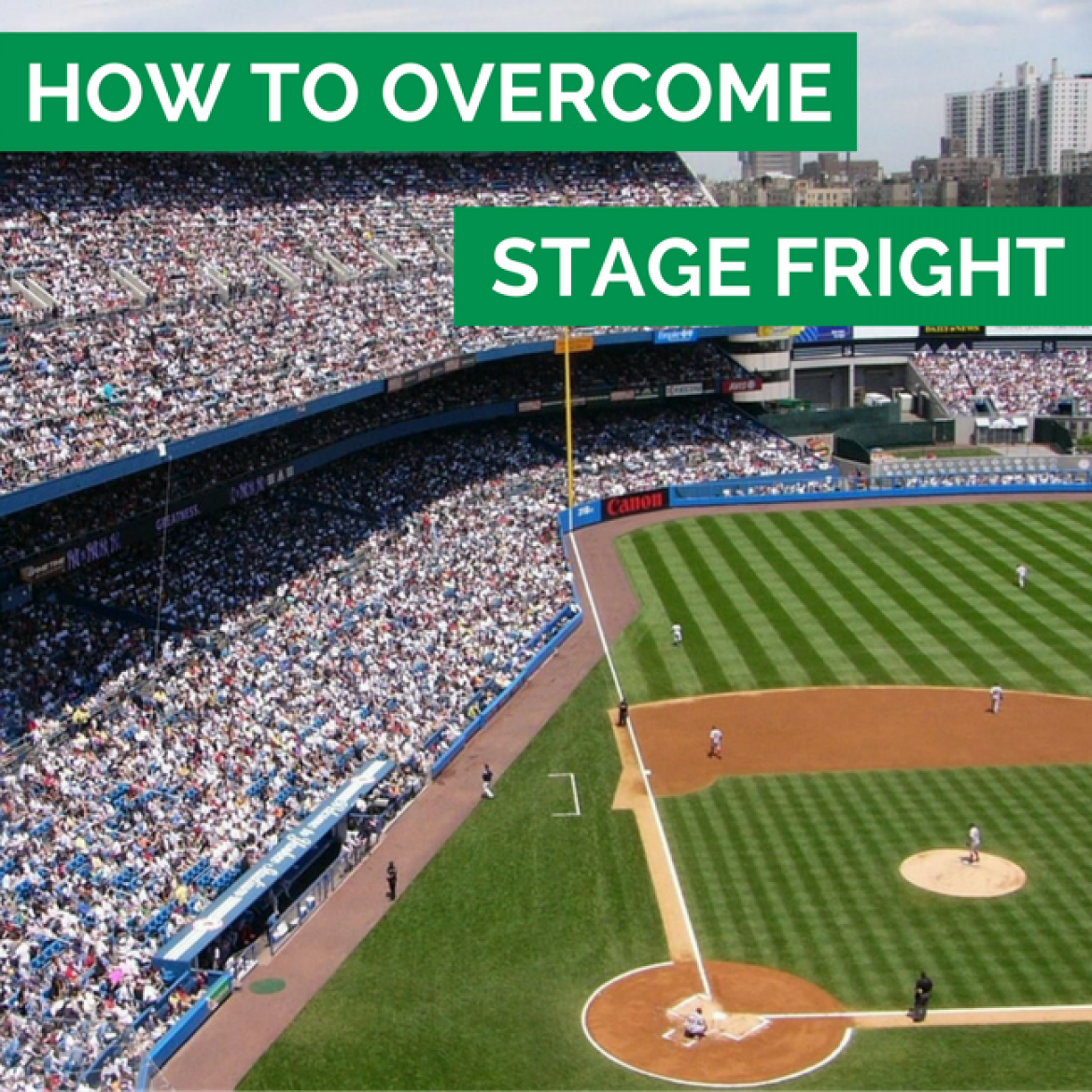 28: How To Overcome Stage Fright - Sports Mastery